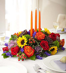 Garden of Grandeur for Fall Centerpiece Flower Power, Florist Davenport FL